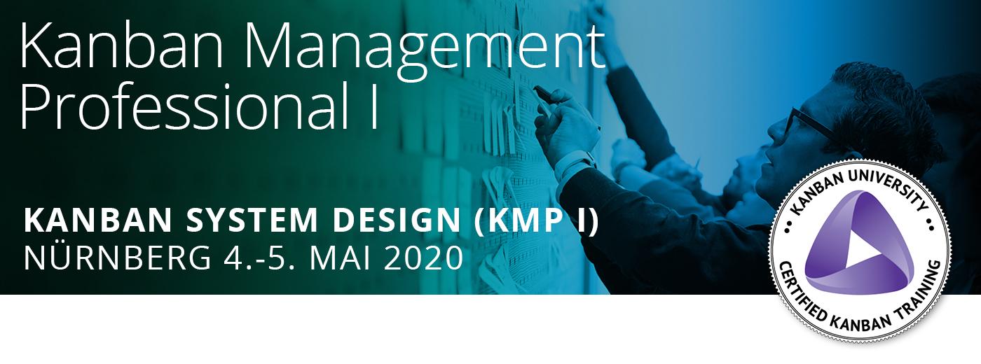 Das Kanban Management Professional 1 findet am 4. und 5. Mai 2020 in Nürnberg statt